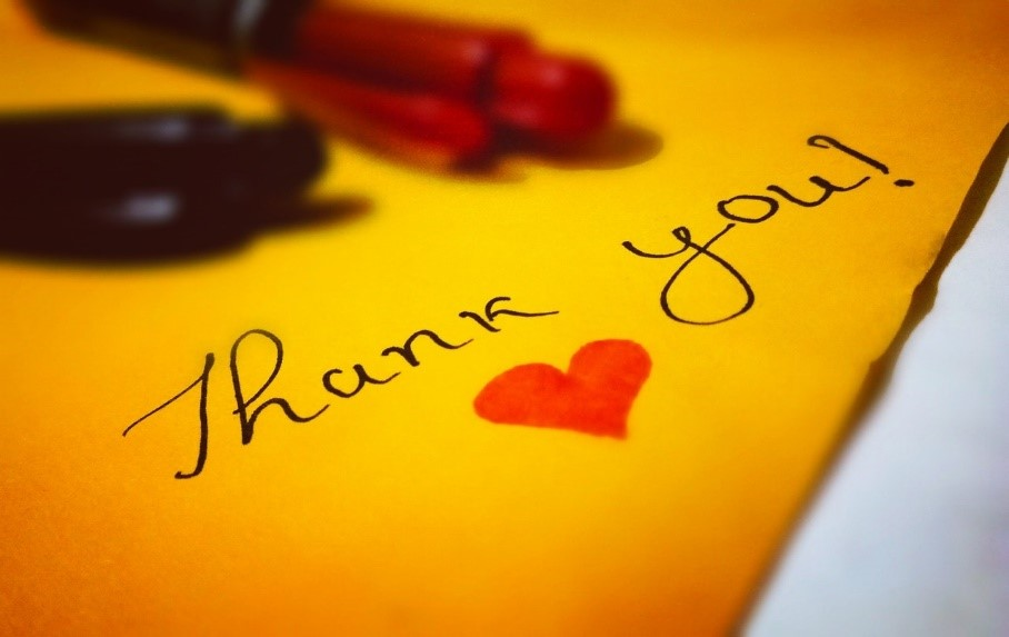 Expressing Your Gratitude Encourages Others To Follow Suit